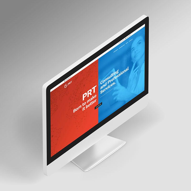PRT renouvelle son image. Le nouveau site est en ligne.